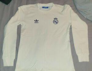 Rare Adidas Originals Real Madrid Jumper size small