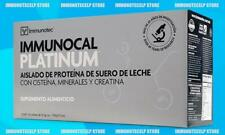 (1X) IMMUNOCAL PLATINUM by IMMUNOTEC 30Pk. FREE SHAKER CUP FAST SHIPPING