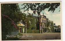 FULLARTON HOUSE, TROON: Ayrshire postcard (C5842).