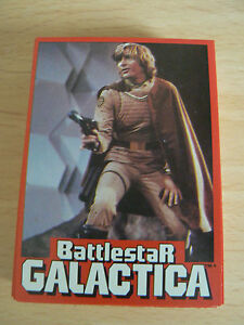 WONDERBREAD 1978 BATTLESTAR GALACTICA CARDS FULL SET 1-36 EXCELLENT CONDITION