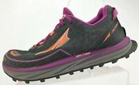 Altra Timp Trail Running Hiking Shoes Orchid Grey Zero Drop Comfort Womens 9.5