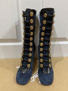 Christian Louboutin Boots 37 dark Navy