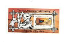 Maldives 1982 - 960 Scouting IMPERF - Souvenir Sheet - MNH