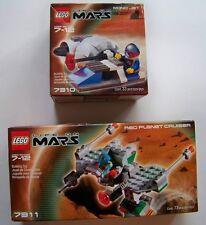 DAMAGED BOXES Lot of 2 Lego Life on Mars 7310 7311 Mono Jet Red Planet UNOPENED