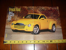 2003 CHEVROLET SSR MUSCLE TRUCK - ORIGINAL ARTICLE