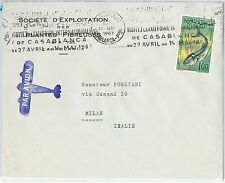 59791 -  MOROCCO - POSTAL HISTORY: STAMP on COVER - FISH 1967