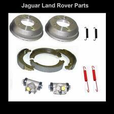 "Land Rover Defender 90 Series 3 88"" SWB Rear Brake Drum Overhaul Kit Drums Shoes"