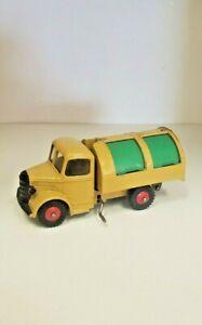 Dinky Toys Tan & Green 252 Bedford Refuse Truck W/O Box