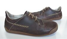Ladies EL NATURALISTA Brown Leather Casual Lace-up Shoes Size 6 Exc Cond