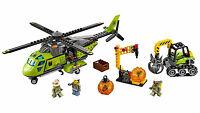 """LEGO 60123 Elicottero dei rifornimenti """"Vulcano"""" - CITY 7-12 Pz 330"""
