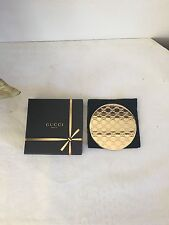 Gucci Beauty Holiday Gold Compact Mirror.  100% Authentic