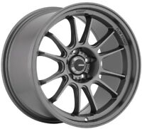 18x8.5 Konig Hypergram 5x100 +38 Matte Grey Wheels (Set of 4)