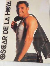 Oscar De La Hoya Souvenir HBO Program Destiny 2000 SP Boxing Com.