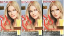 (3) Revlon SALON COLOR 9 Light Natural Blonde Color Booster Permanent Hair Color