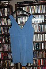 J. Crew Silk  Blue Sleeveless Occasion Dress V Cut NEW Bridesmaid 16 (bin4)