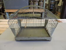 Vintage Hendryx Metal Bird Cage House, Used, (VE)