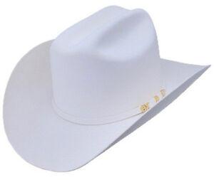 Men's Serratelli 6x Amapola Beaver Felt Cowboy Hat Made In USA Cali Style Brim