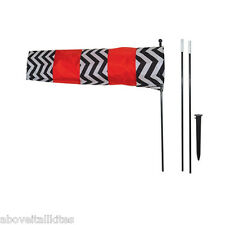 Airport Airplane Windsock, Directional,  RC Field, Includes Windsock Pole