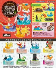 Útil Figuras Para Escritorio Trabajo 3! Pikachu Ho-Oh Lugia Cyndaquil Etc Con