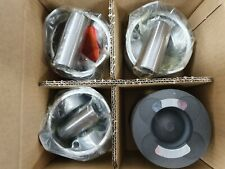 ISUZU 4JX1 SET OF PISTONS OVERSIZE +1.00MM