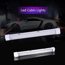 12V T5 72 LED Car Interior White Strip Lights Bar Lamp Van Caravan ON/OFF Switch