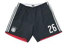 adidas DFB Deutschland Shorts Sporthose Hose Gr. XL 2014 WM #26 schwarz 4 Sterne