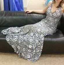 Jovani 26533 Gown with Aurora Borealis Crystals Size 14