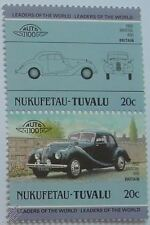 1950 BRISTOL 400 Car Stamps (Leaders of the World / Auto 100)