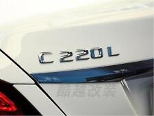 E662 C220L C220 Emblem Badge auto aufkleber 3D Schriftzug Plakette car Sticker