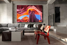 Antelope Canyon Arizona Art Canvas Poster Print Home Wall Decor