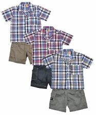 Cotton Blend Checked Clothing (0-24 Months) for Boys