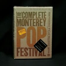 3xDVD Box The Complete Monterey Pop Festival 2002 Criterion Collection MON320