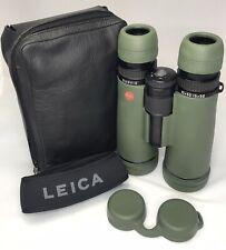 Leica Duovid 10 - 15 X 50 binoculars plus Leica leather case and Leica strap