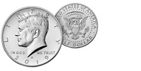 2019 D President Kennedy Half Dollar Fifty Cents Coin U.S. Mint Coins Money