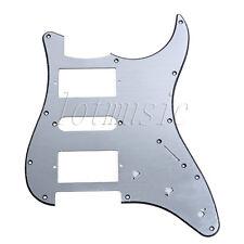 Brush Aluminum Pickguard Scratch Plate For Fender Stratocaster HSH Guitar Parts