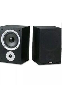 BRAND NEW IN BOX Polk Audio R150 BLACK 2 Way Bookshelf Speakers PAIR