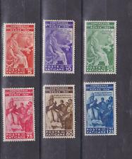 vatican 1935 Sc 41/6 set        p245