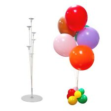 PLASTIC BALLOON TABLE CENTREPIECE STAND KIT 75CM WITH 6 STICKS PARTY PROP