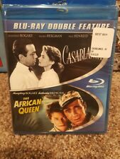 Casablanca/The African Queen (Blu-ray Disc, 2013, 2-Disc Set)