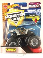 HOTWHEELS MONSTER JAM MAX-D 1:64withre-crushable car 2018 TOUR EDITION