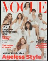 Vogue British ~ July 2007 ~ Yasmin Le Bon Lizzy Jagger Erin O'Connor Jane Birkin