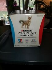 Purina Pro Plan Simply Fit Weight Loss System Adult Cat Food Exp.3/19