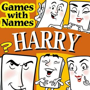HARRY'S GAME: Stocking filler idea especially for people called HARRY!