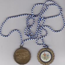Carrow Road (Norwich City) local primary schools football competition medal 1999