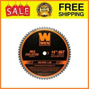 Professional Metal Saw Blade Carbide Tipped Mild Steel Cutting 14 Inch 66 Tooth