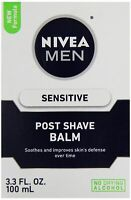 NEW Nivea 3.3oz After Shave Balm Men Extra Soothing Quick Relief Sensitive Skin