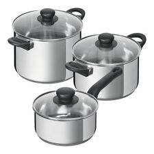Kuhn Rikon Studio Pan Set 3 Pcs with Lids