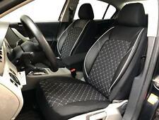 Sitzbezüge Schonbezüge für Seat Leon schwarz-weiss V1322413 Vordersitze