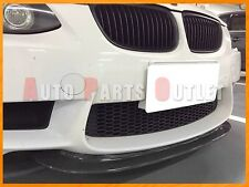 CRT Style Carbon Fiber Front Bumper Lip For 2008-2013 BMW E90 E92 E93 M3 Only