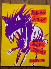 Rolling Stones - Urban Jungle - Europe 1990 - Programme